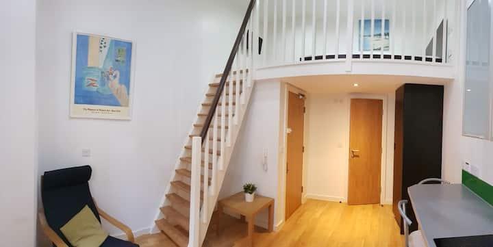 Split Level Modern Studio Apartment