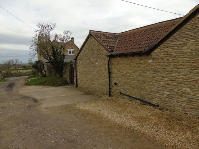 View of Rear of Cottage From Wiltshire Path Bridleway