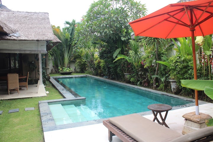 Palem Villa  Sanur with huge pool Promo 20%