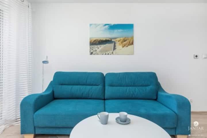 292 Bałtycka 6-Apartament z 1 sypialnią i do sauny