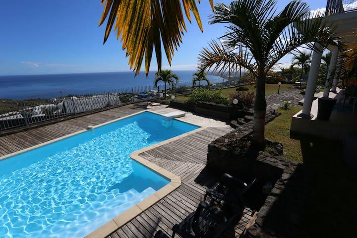 """ Chambre"" -slz- vista Oceano a Plateau Cailloux"