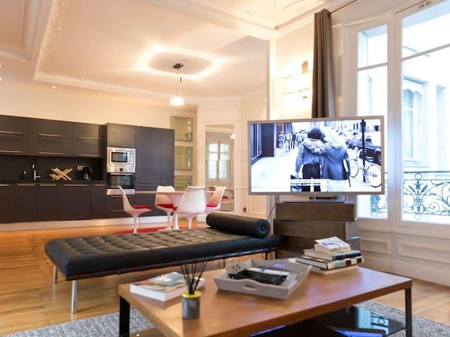 Superbe Apartment 2 bedrooms near  Porte Maillot