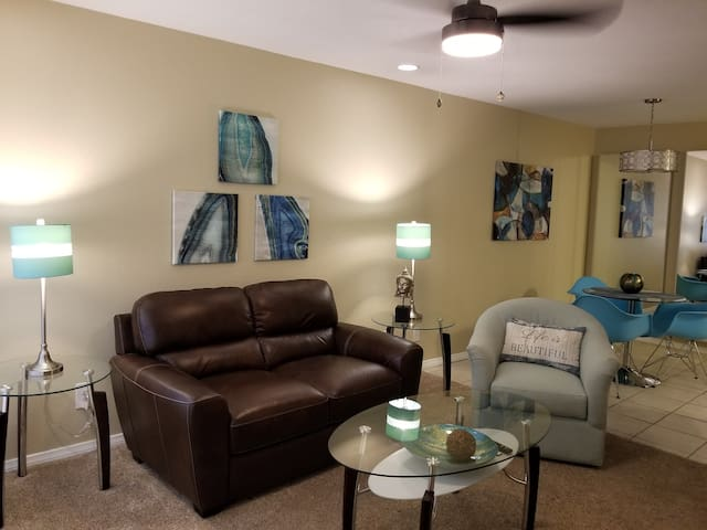 Beautifully remodeled condo in gated resort
