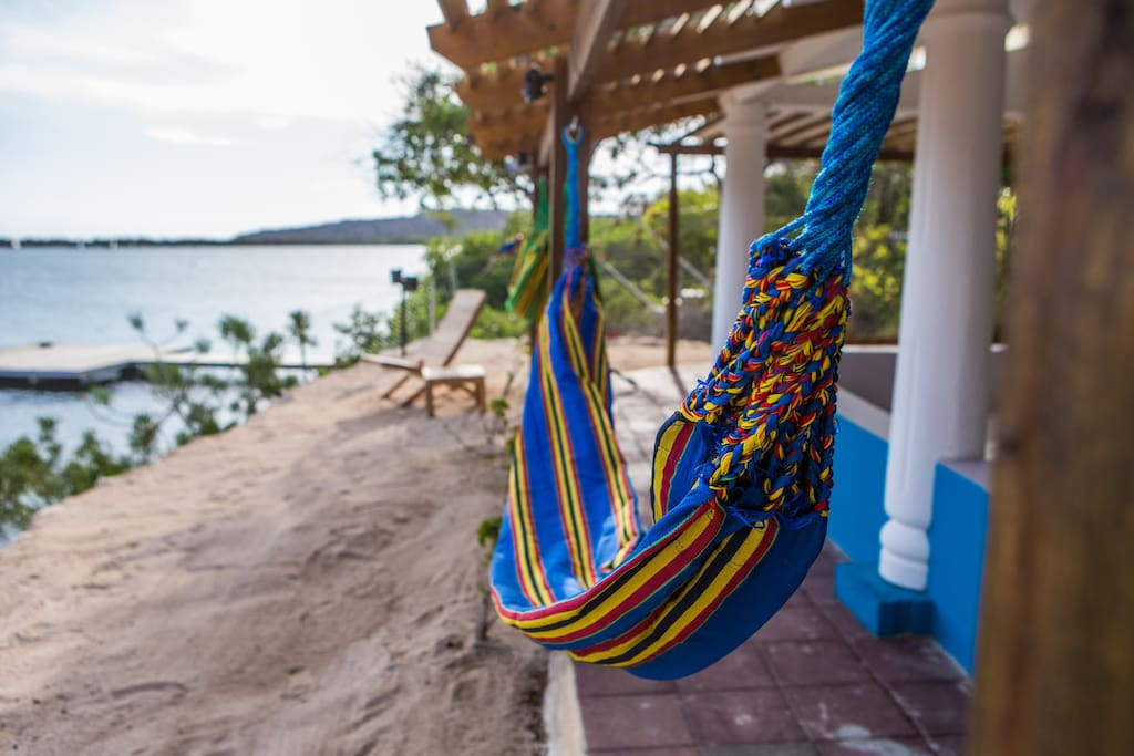 Relax in one of our hammocks!