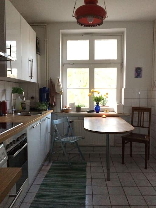Küche. Kann gemeinsam genutzt werden