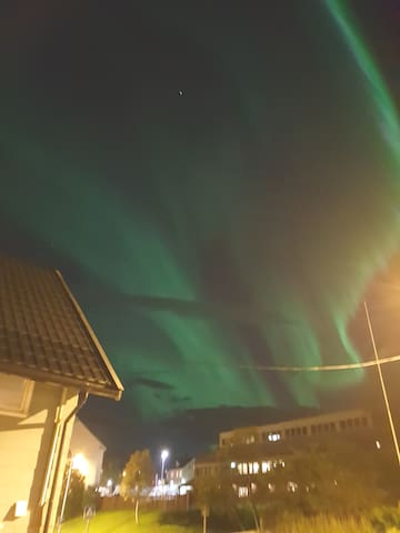 Northern light out of my balcony 10.09.18. from my Mobil fon