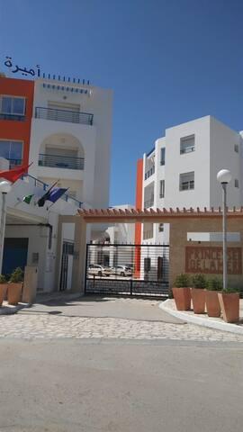 Appartement Résidentiel à 10m de la Plage.