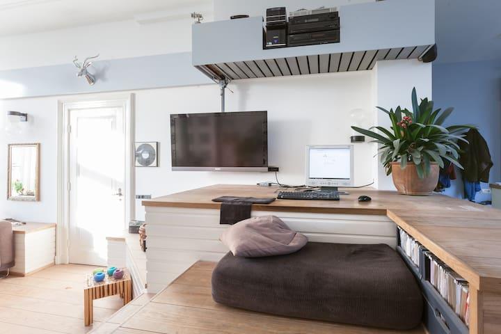 Appartement 'Aan de Gracht' - Wageningen - Apartamento