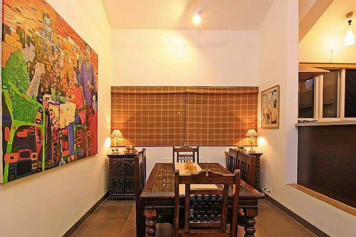 Casa Pilerne - 2BHK Duplex Apt. with Swimming Pool