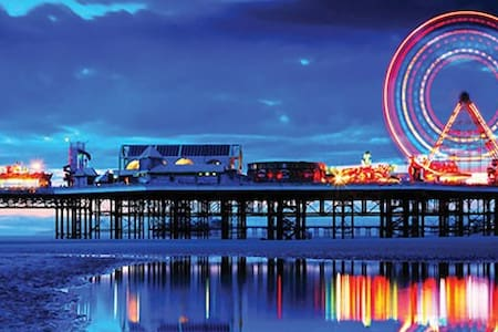 Home from home near to Winter Gardens - Blackpool - Haus