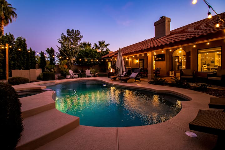 Stunning  North Scottsdale Luxury Home w/HTD Pool