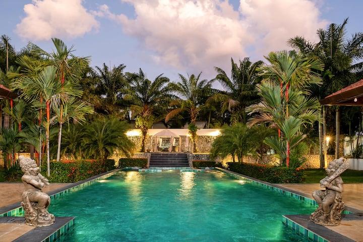 2000㎡ 5Bedroom Perfect Location Private Pool Villa