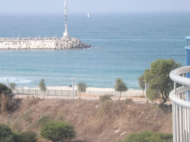 marina with sea - Ashkelon - Apartemen