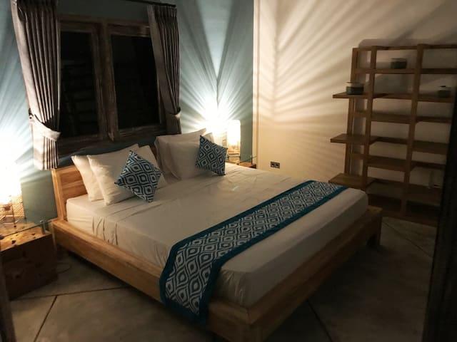 Room #3 at night