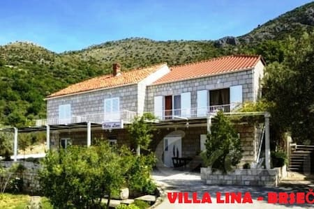 Villa LINA Brsečine - stone house with sea view - Dubrovnik - House