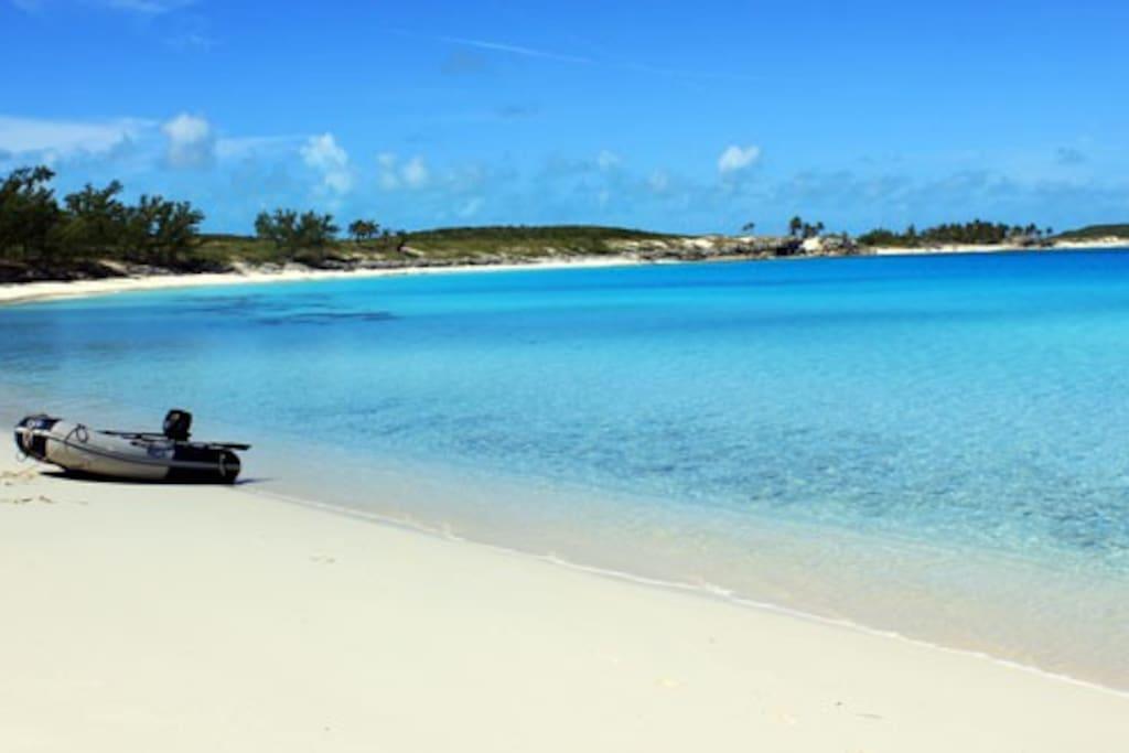 AJ's beach