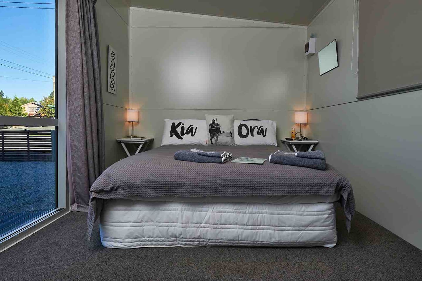 A comfortable bed is always a must after a day exploring Wanaka.