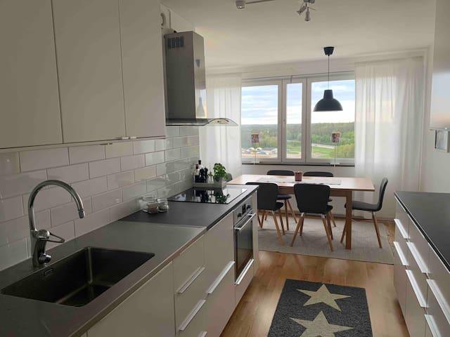 Lägenhet nära Stockholm, bra kommunikationer!