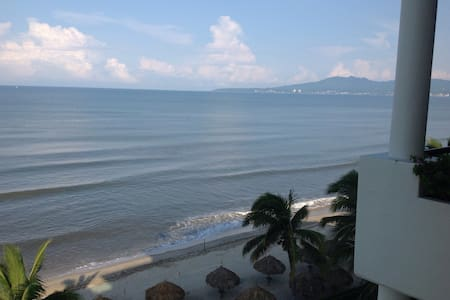Beach front, 3 bedrooms, 6th floor - Nuevo Vallarta - 公寓