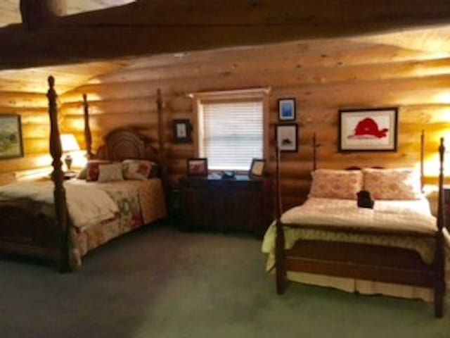 Queen bed and double bed