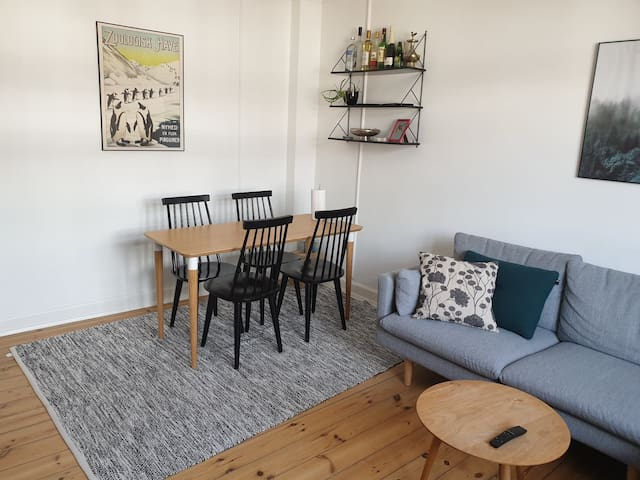 Nice and cozy apartment in the heart of Østerbro
