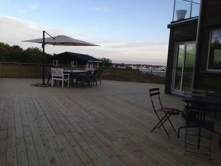 Fantastisk stor villa på Tromøya!