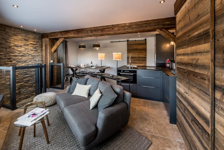 CONTEMPORARY DUPLEX 3BDS (6p) COURCHEVEL 1850