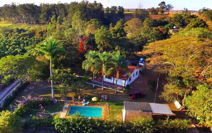 Chácara/Sítio em Jaguaríuna! Ótimo para relaxar!