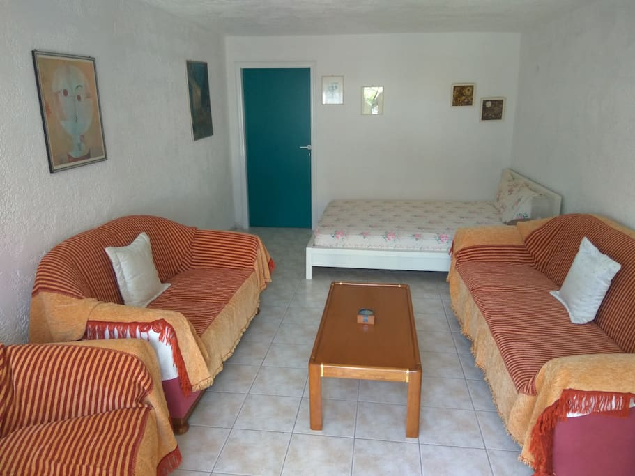 Living Room- Double Bed