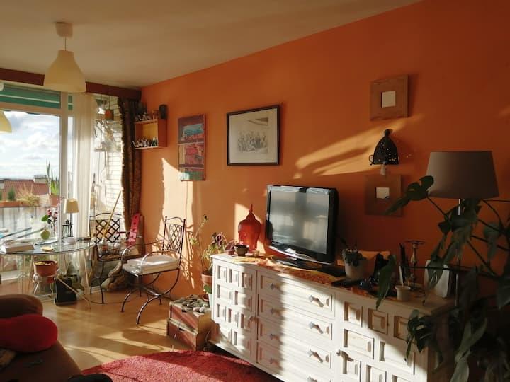 Casa con vista en San Lorenzo