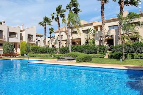 Stunning House in Roda Beach & Golf Resort