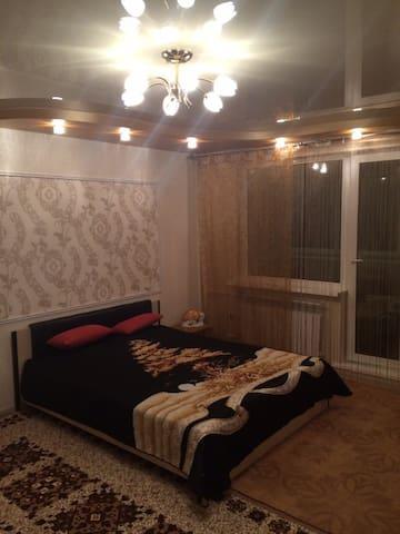1-комнатная квартира с евроремонтом в центре - Birobidzhan - Apartamento