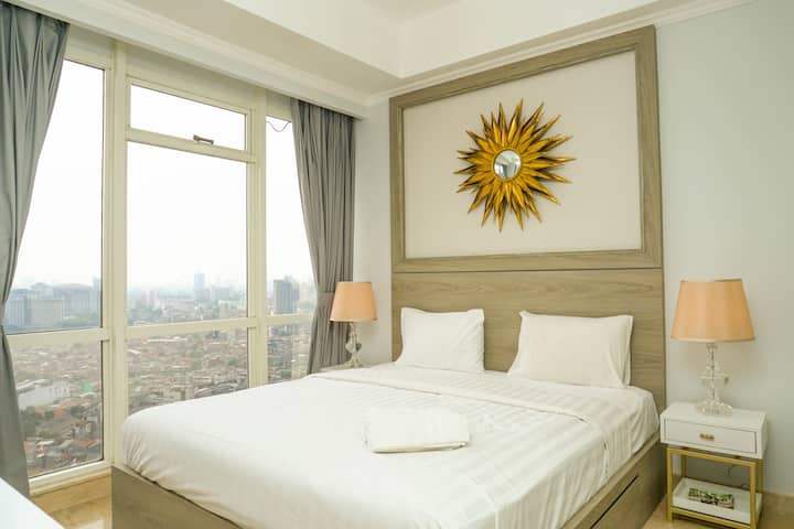 Luxurious 2BR with Private Lift @ Menteng Park Apt