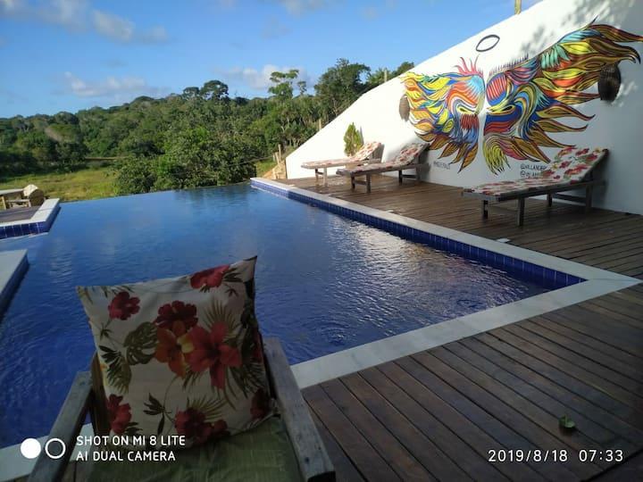 Casa aconchegante em Trancoso Bahia