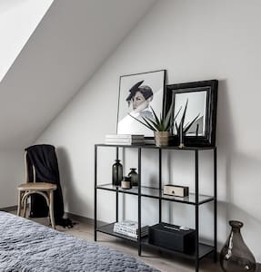 Designer private room + Penthouse flat + centrally - München