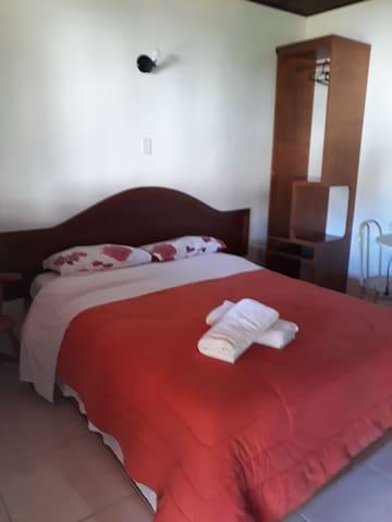 Suíte para casal em Gramado