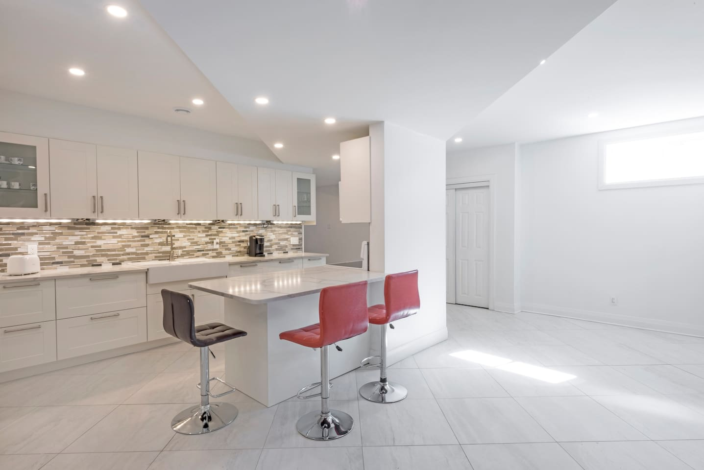 Perfect kitchen to cook and gather around with friends family
