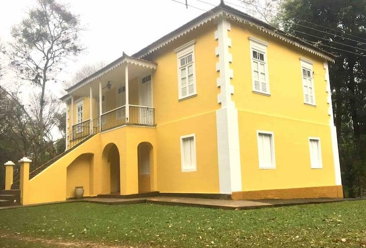 Sede Histórica de Fazenda de Café - Amparo - SP
