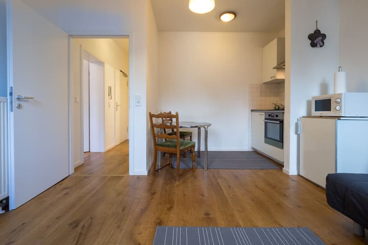 Classy Flat With 2 Rooms At Train Station/Messe