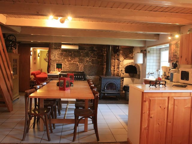 Cottage Alisiers heart of nature Vosges 14 pax - Ventron - Hus