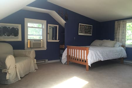 Third Floor Suite - Bedroom, Bathroom & TV Room - West Hartford