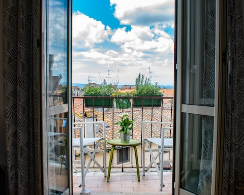 Interno 3:Appartamento in centro storico con vista