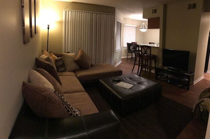 Cozy and comfortable Apt, 12 mintues to U of M - Ypsilanti - Apartment