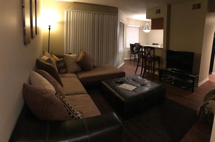 Cozy and comfortable Apt, 12 mintues to U of M