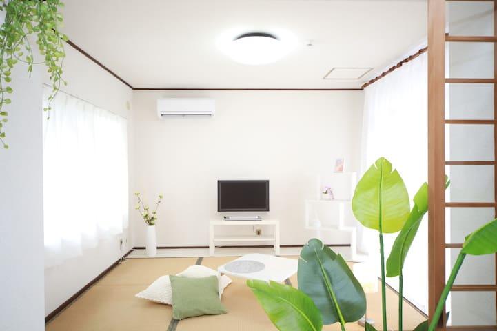 滋賀県東近江市の別荘・12名様宿泊可・BBQ可ペット可のプライベートハウス