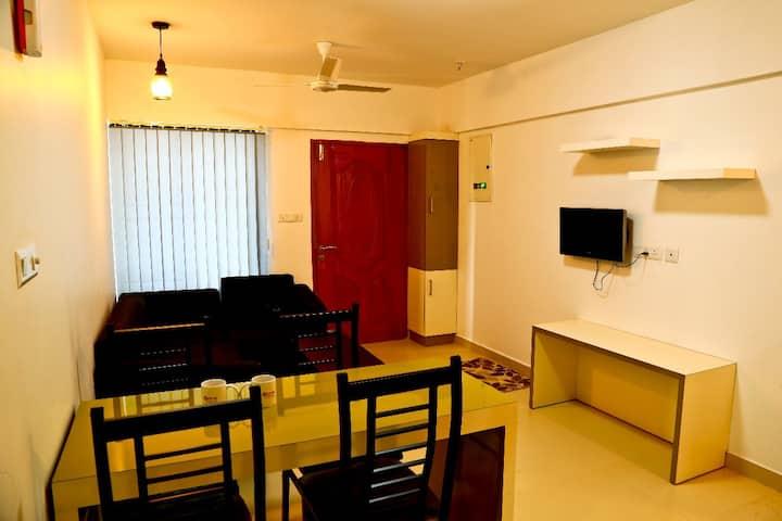 Professional serviced apartment near infopark