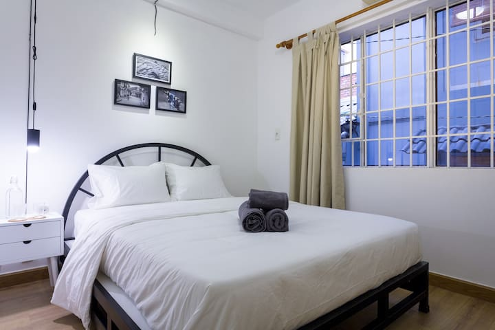 (1B) Clean City Studio by the park - Ho Chi Minh City - Huis