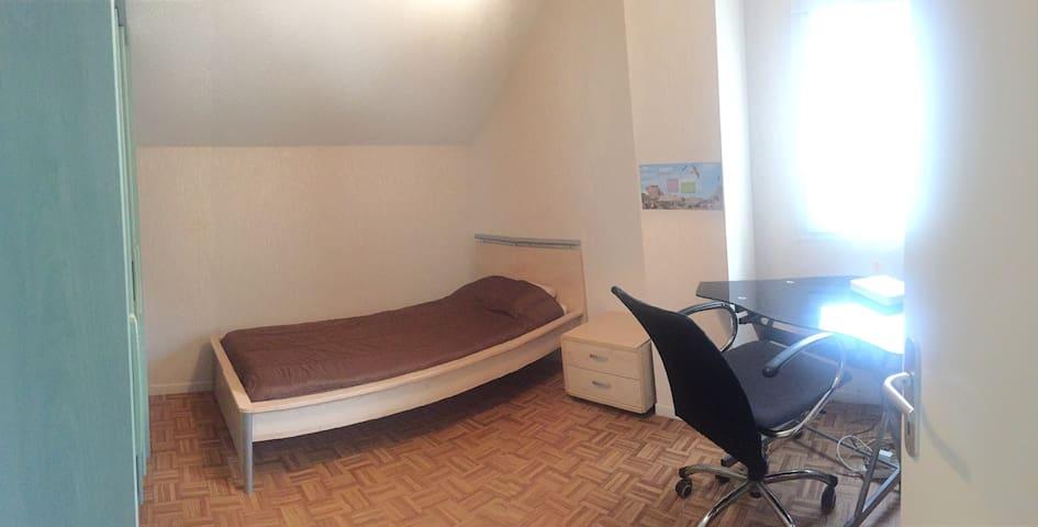 Chambre simple pour une personne