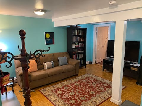 Lovely 1 Bedroom Apt. W Private Entrance