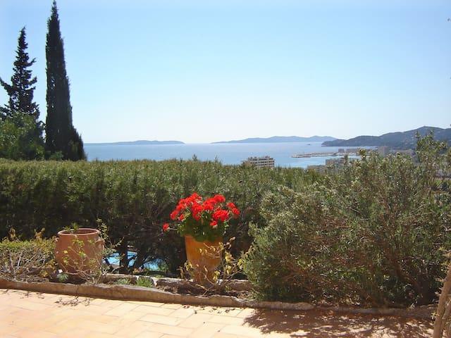 Vue magnifique sur la mer et les îles d'or - Le Lavandou - 公寓